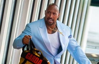 Dwayne Johnson à bord de Central Intelligence
