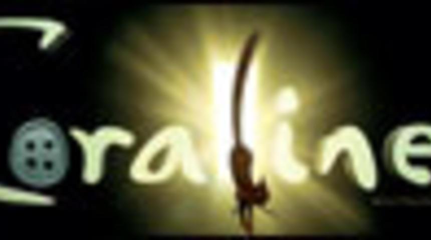 Primeur : Affiche en français du film d'animation Coraline
